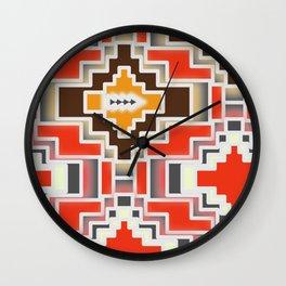 Festive shiny shapes Wall Clock