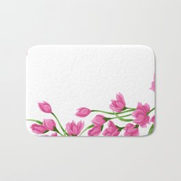 Roses crown Bath Mat