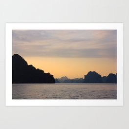 Halong Bay, Vietnam.  Art Print