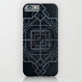 Art Deco Frame iPhone Case