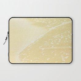 Kapalua Beach sparkling golden sand and seafoam Maui Hawaii Laptop Sleeve