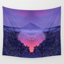The mutation of the volcano Wall Tapestry