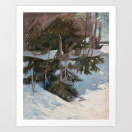 PEKKA HALONEN, SNOWDRIFTS Art Print