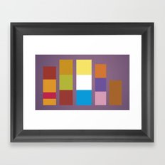 Minimal Scooby Doo Gang Framed Art Print