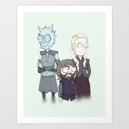 Game Of Schwift Art Print