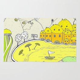 Lemon paradise Rug
