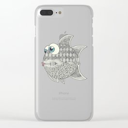 Trendy Tetra Clear iPhone Case