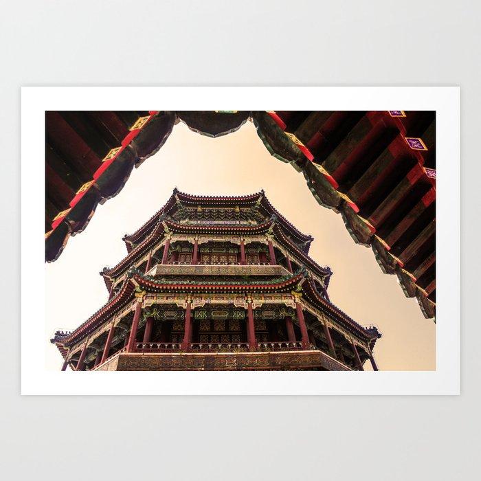 Beijing China Art Print
