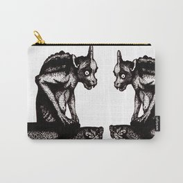 Black Gargoyle Carry-All Pouch