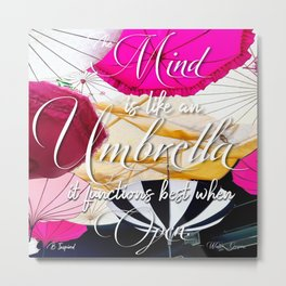 Umbrella Metal Print