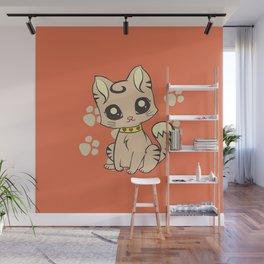 Cute Cat Wall Mural