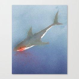 The White Shark Canvas Print