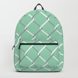 Chain Link on Mint Backpack