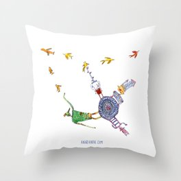 Fantastic World Throw Pillow