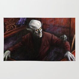 Dracula Nosferatu Vampire King Rug