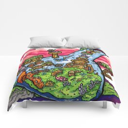 A Very Curious Waterpipe Comforters
