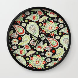 Christmas Party Wall Clock