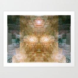 Zorb - The universe Art Print