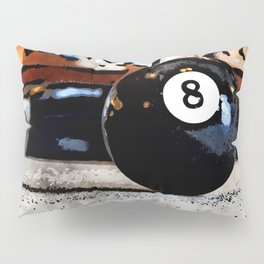 Shooting For The Eight Ball Pillow Sham