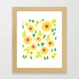 Pocketful Framed Art Print