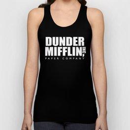 Dunder Mifflin (White) - the Office Unisex Tank Top