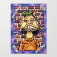 floyd Canvas Prints featuring Floyd by cdeeryart