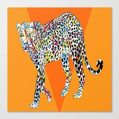 A.M designs leopard Canvas Print