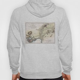 Vintage Map of Athens (1784)  Hoody