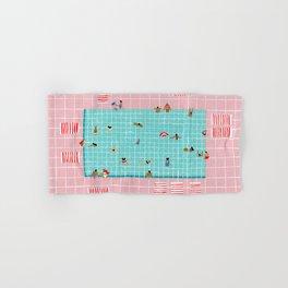 Pink Tiles Hand & Bath Towel