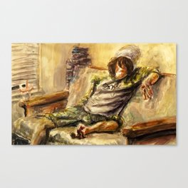 What Real Men Do Canvas Print