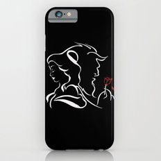 Beauty And Beast BW Slim Case iPhone 6s