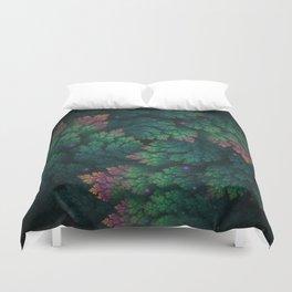 Cosmic Flora Duvet Cover