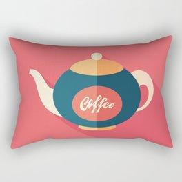 Coffee Kettle Rectangular Pillow