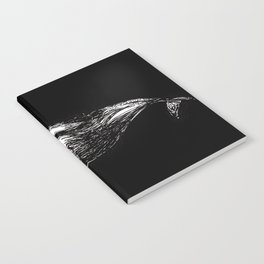 Big fish (black) Notebook