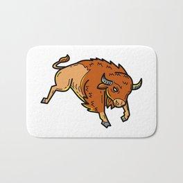 American Buffalo Jumping Mono Line Bath Mat