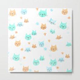 CATS. CATS. CATS! Metal Print