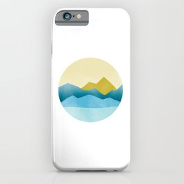 Ode to Pacific Northwest 1 iPhone Case