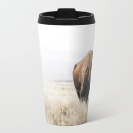 Bison stance Travel Mug
