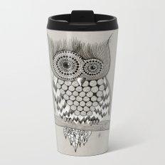 Rupert Owl Metal Travel Mug