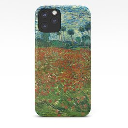 Vincent Van Gogh Poppy Field iPhone Case