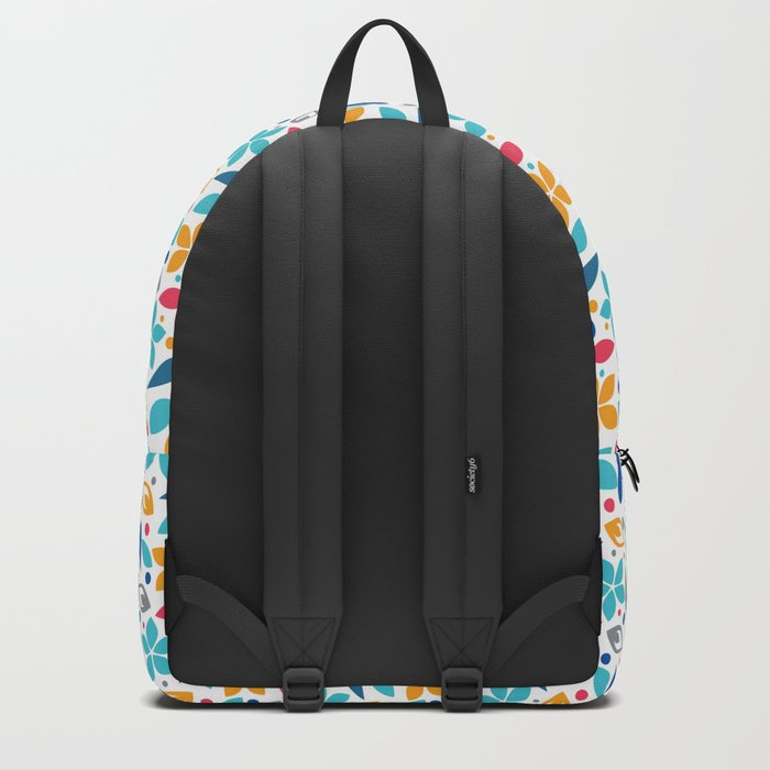 Colorful Lovely Pattern X Backpack