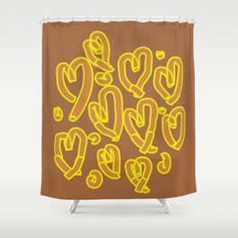 Have a Heart 3 Shower Curtain