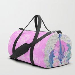 PINK MUSIC Duffle Bag