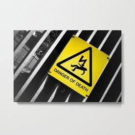 Danger of Death #2 | New Slant, Old Message Metal Print