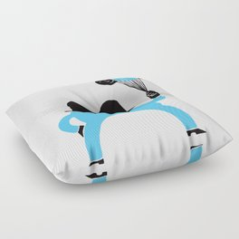 Blue-Boy Balloon Floor Pillow