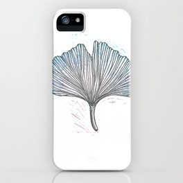 Gingko Leaf iPhone Case