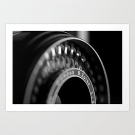Lense Art Print