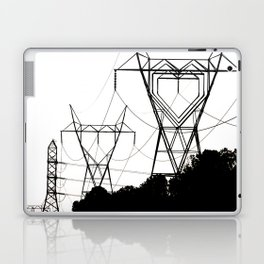 I heart your electricity. Laptop & iPad Skin