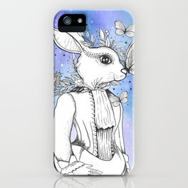 Magic Fairy Incantations Spark Rabbit Transformations iPhone Case