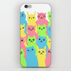 Animal Friends iPhone Skin